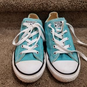 2 for $20! Turquoise Converse